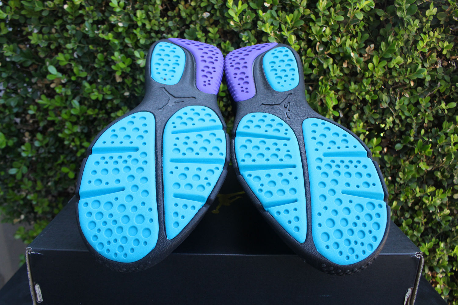 05140105f56276 Jordan - NIKE AIR JORDAN TRAINER ESSENTIAL SZ 8.5 AQUA BLACK WHITE PURPLE  888122 018 - Walmart.com
