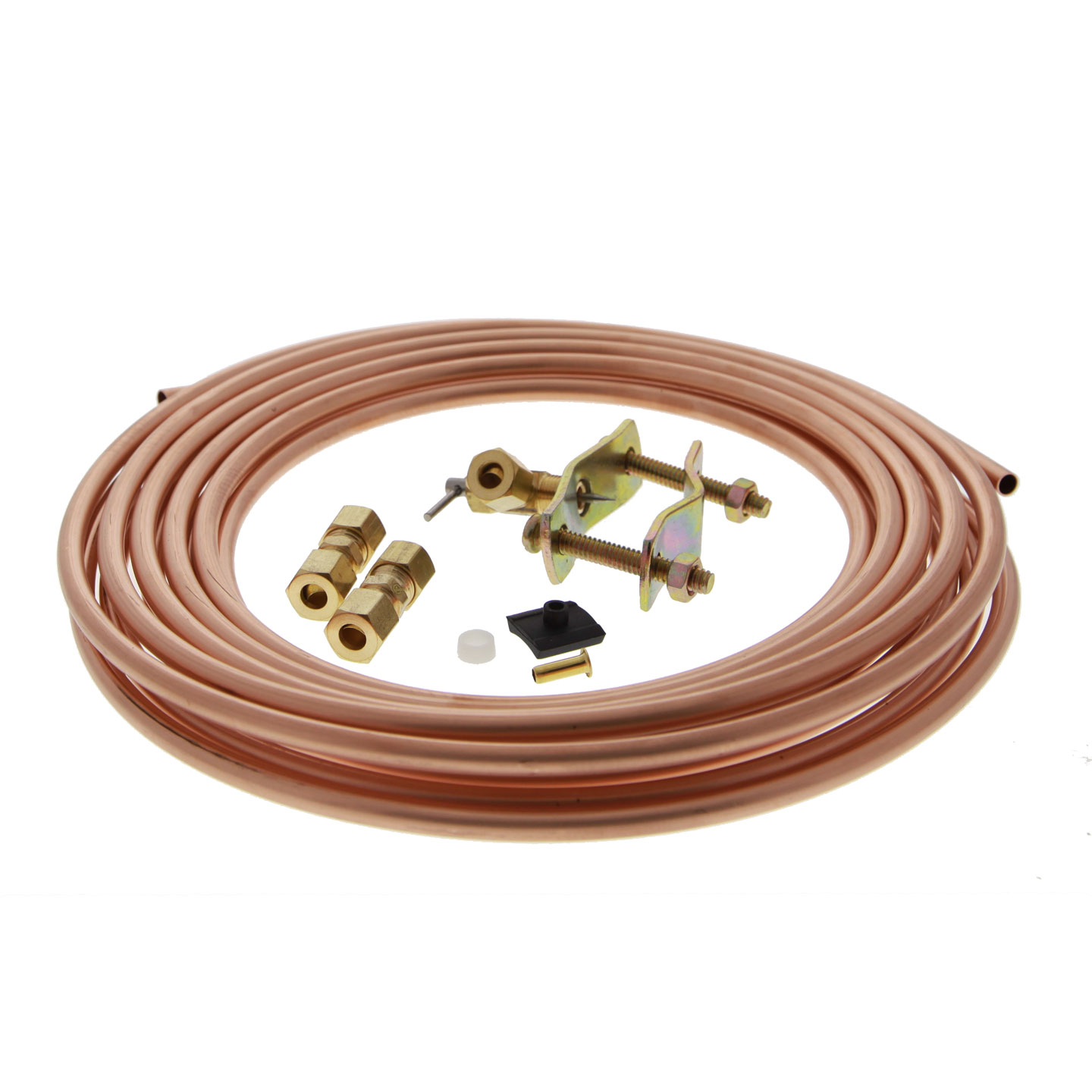Copper 1/4-inch Water Line Install Supply Line Kit