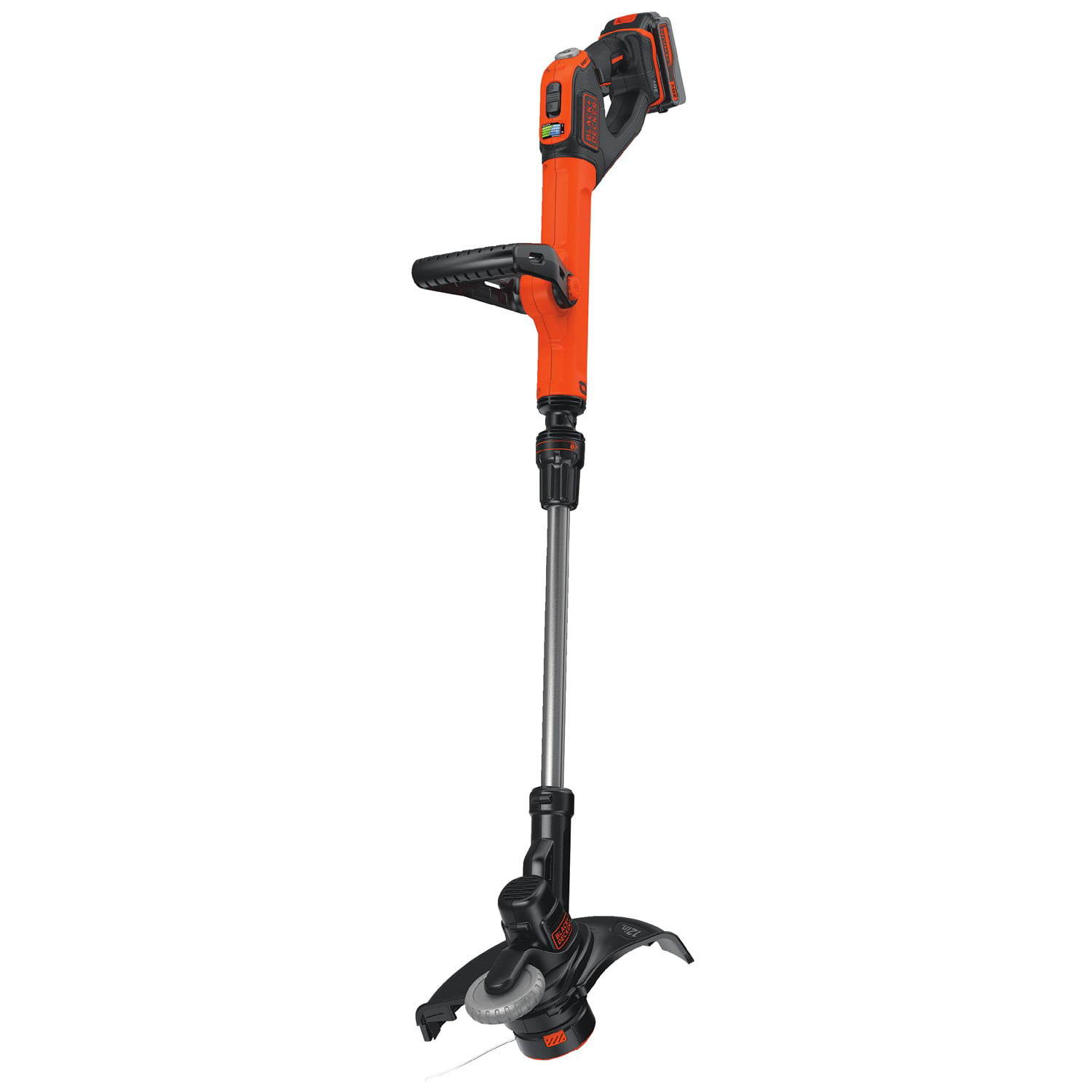 Black & Decker LSTE523 20V MAX Lithium-Ion Easyfeed Cordless String Trimmer   Edger by Stanley Black & Decker