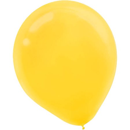 5 inch Latex Balloons Pkg/50 - 5 Inch Latex Balloons