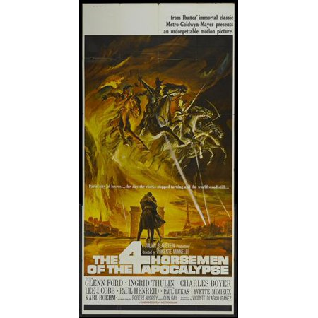 The Four Horsemen of the Apocalypse - movie POSTER (Style A) (20