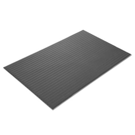 Crown Mats & Matting FL2436GY 24 x 36 in. Ribbed Vinyl Anti-Fatigue Mat - Gray