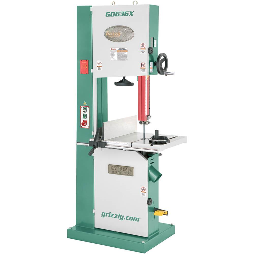 "Grizzly G0636X 17"" Ultimate Bandsaw"