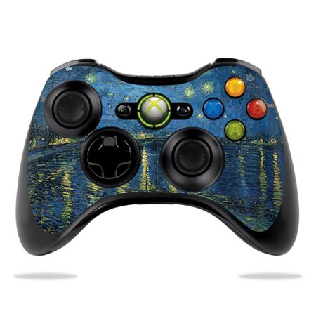 Skin For Microsoft Xbox 360 Controller - Over The Rhone | Protective, Durable, and Unique Vinyl Decal wrap cover | Easy To Apply, Remove, and Change Styles ()