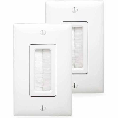 Legrand In-Wall Cabling Kit - HT2004-WH-V1 - (Cable Access Kit) - White (Refurbished)