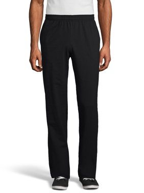Hanes Men's and Big Men's X-Temp Jersey Pocket Pant, Up to Size 3XL