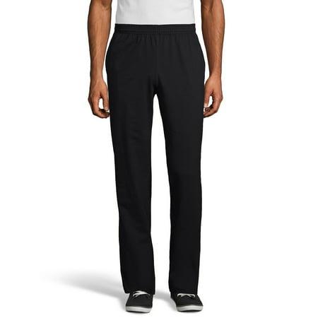 Hanes Men's and Big Men's X-Temp Jersey Pocket Pant, up to Size 3XL Everlast Jersey Pants