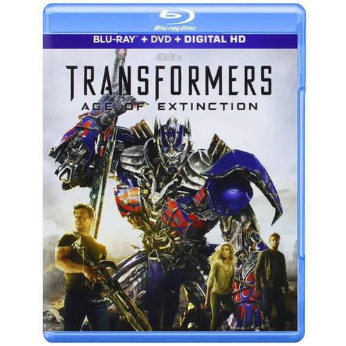 Transformers: Age Of Extinction (Blu-ray + DVD + Digtial HD)