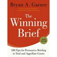 The Winning Brief (Hardcover)