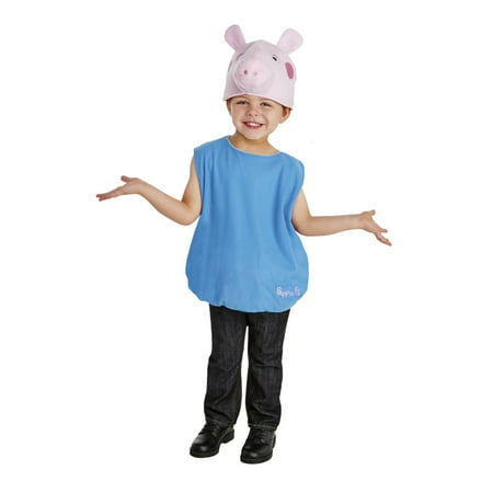 Pig Costume Pattern (Peppa Pig - George Toddler)