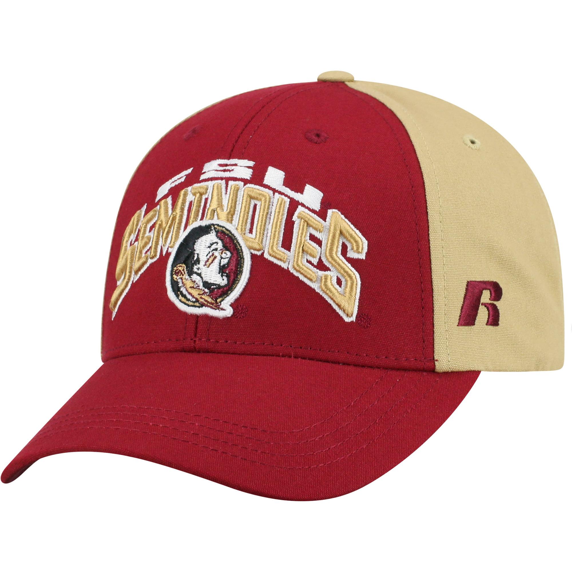 Men's Garnet/Gold Florida State Seminoles Tastic Adjustable Hat - OSFA