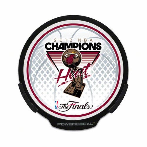 NBA - Miami Heat 2012 NBA Finals Champions Power Decal: Light Up Decal