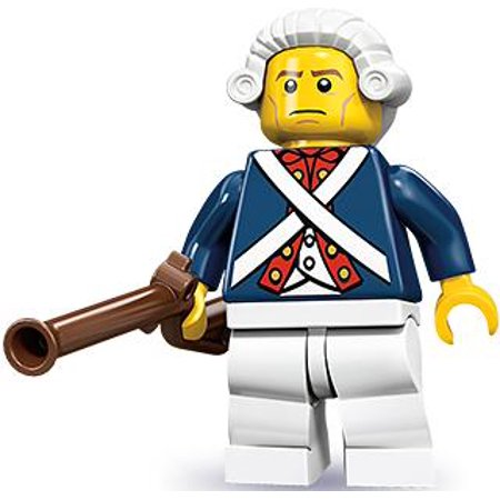 LEGO Series 10 Revolutionary Soldier Minifigure ()