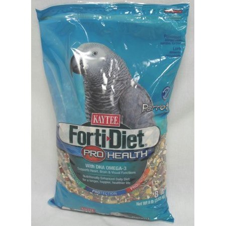 Central   Kaytee Products  Inc Parrot Forti Diet Pro Health 8Lb 8 Lb