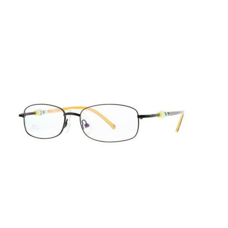237a19e077 Eye Buy Express Kids Childrens Reading Glasses Black Rectangular Rounded  Full Frame Stainless Anti Glare grade d5345 - Walmart.com