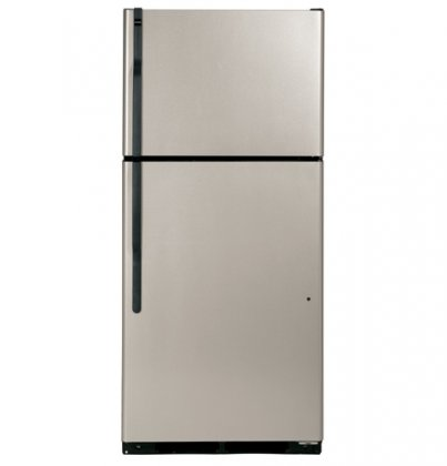 ENERGY STAR 17.5 CU.' TOP FREEZER REFRIGERATOR, METALLIC, REVERSIBLE DOOR SWING