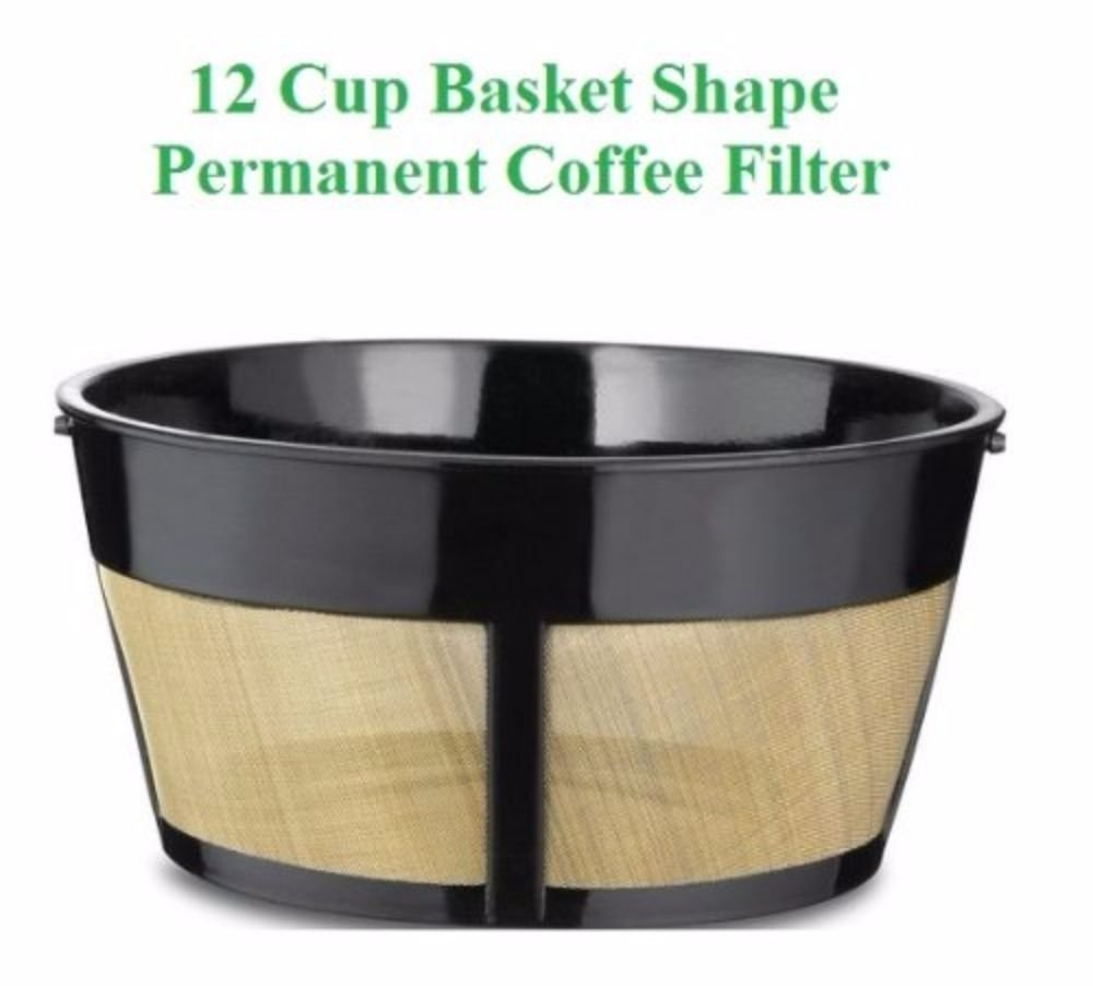 8-12 Cup Basket Shape Permanent Coffee Filter