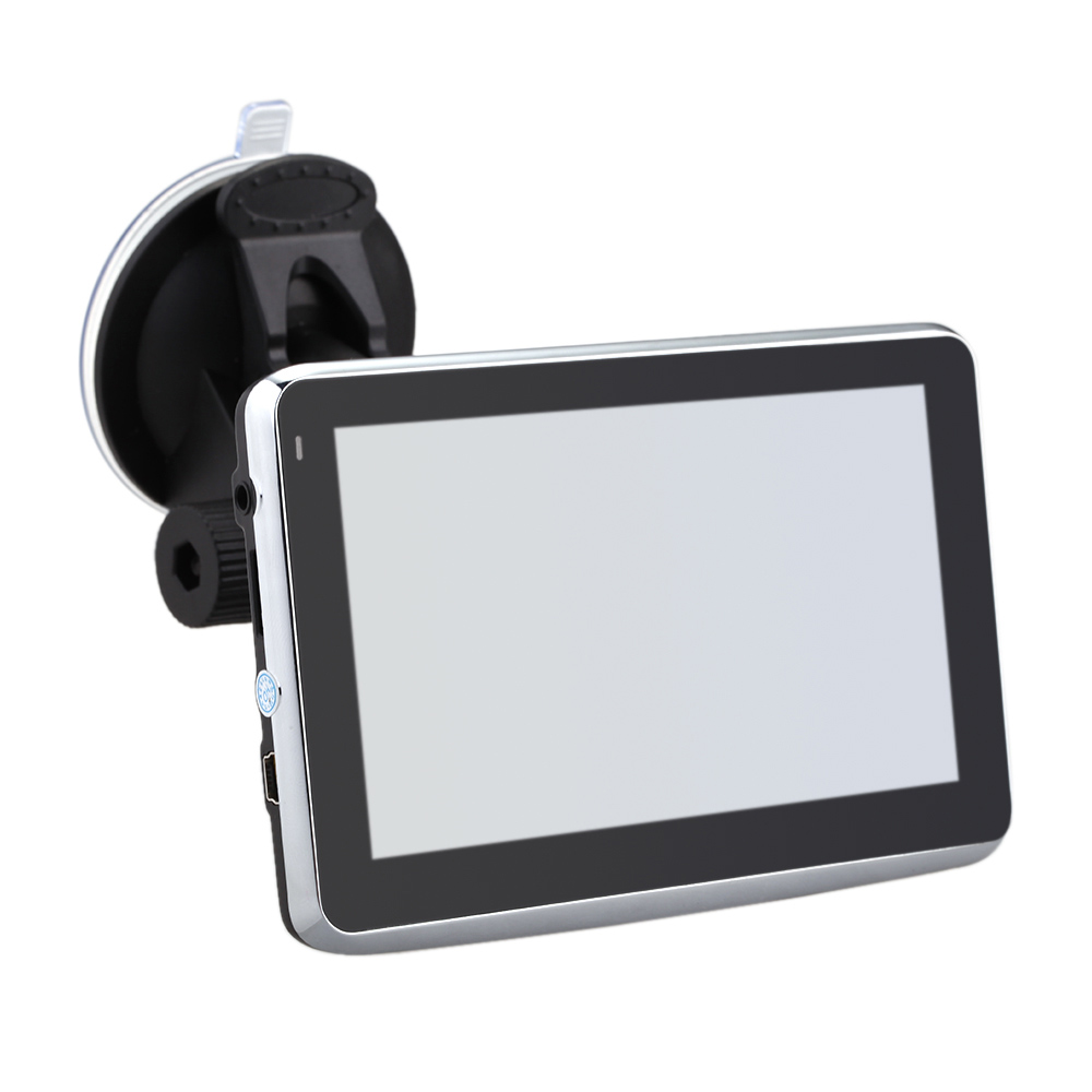 """5"""" HD Touch Screen Portable Car GPS Navigation 128MB RAM 4GB FM Video Play Car Navigator with Back Support +Free Map"""