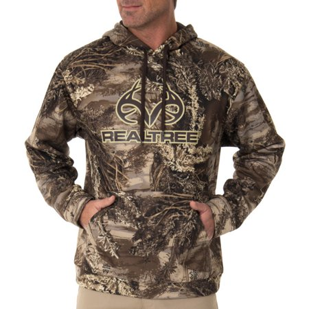Realtree Men's Camo Performance Fleece Hoodie