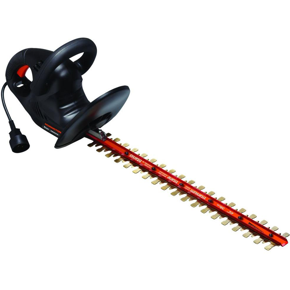 Remington RM4522TH 4.5-Amp 22-Inch Electric Hedge Trimmer With Titanium Blades