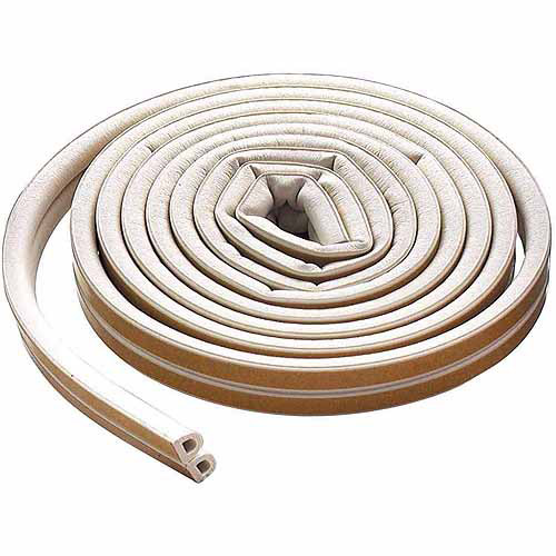 M-D Products 63628 17' White Extreme Temperature D-Profile Weather Stripping