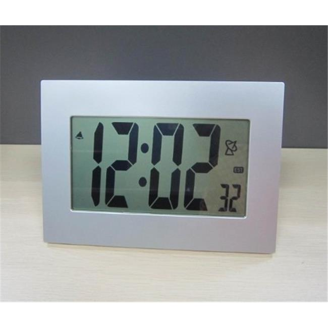 Sonnet T-4697 3.5 in. Atomic Number LCD Clock