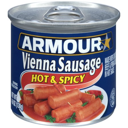 Single vienna sausage