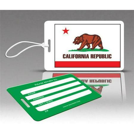 Insight Design 770687 TagCrazy Luggage Tags- California- Set of Three