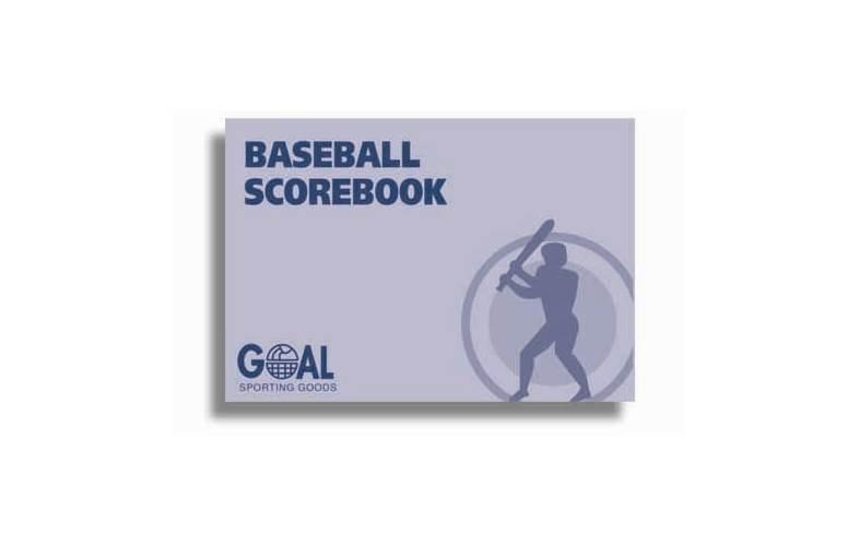 Baseball Scorebook by Goal Sporting Goods