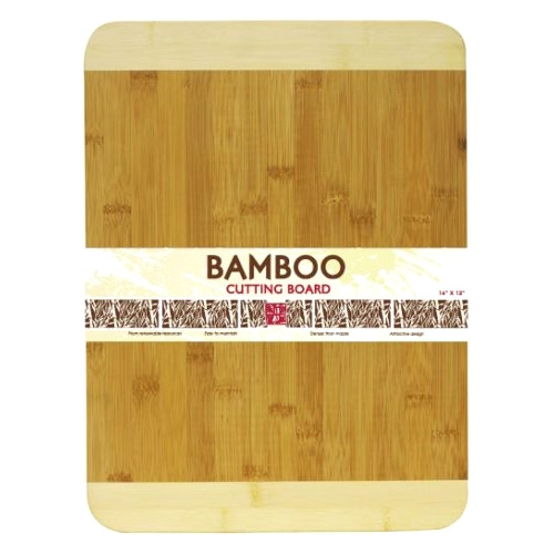 """Home Basics 12"""" x 16"""" Bamboo Cutting Board"""