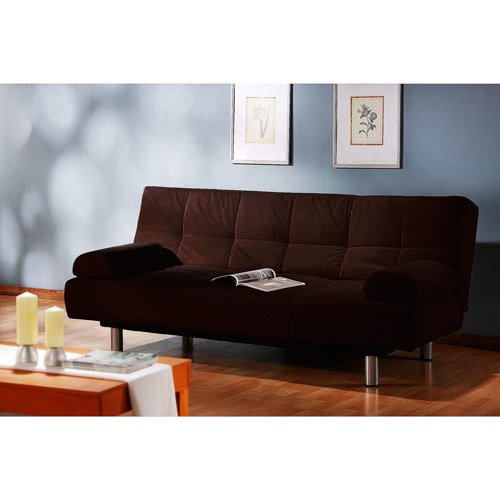 Atherton Home Manhattan Convertible Futon Sofa Bed And Lounger Multiple Colors Com