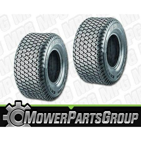 D337 (2) Kenda Super Turf Tubeless Tires 4 Ply 20x10.5x8 20-10.5-8