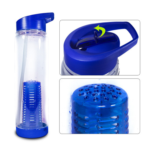 Sivan Health and Fitness Sorbus  Infuser Water Bottle with Extra Straw