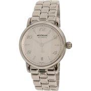Montblanc Women's Star 107117 Silver Stainless-Steel Swiss Quartz Fashion Watch