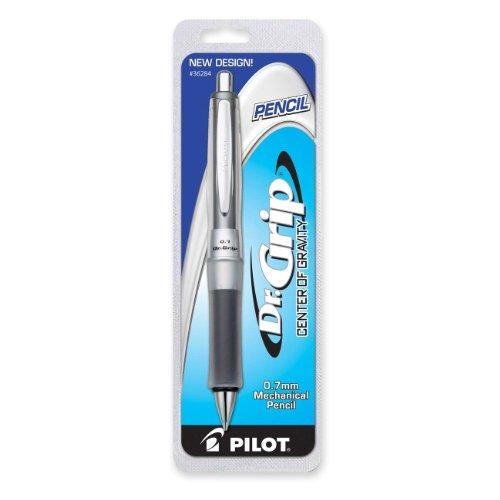 Pilot Dr. Grip Center Of Gravity Mechanical Pencil - 0.7 Mm Lead Size - Black Lead - 1 / Pack (PIL36284)