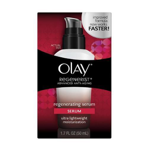 OLAY Regenerist Advanced Anti-Aging Regenerating Serum 1.70 oz (Pack of 4)