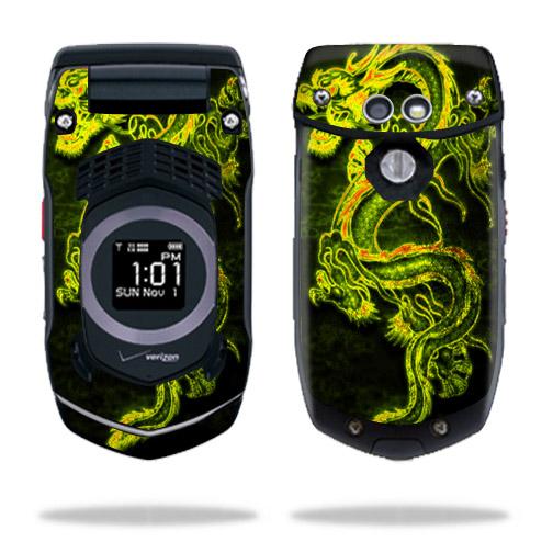 Skin Decal Wrap For Casio G U0026 39 Zone Rock C731 Cell Phone Dragon Breath - Walmart Com