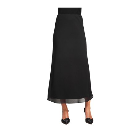 Anne Klein Lined Skirt (Georgette A-Line Skirt )