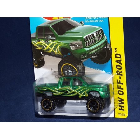 2014 Hot Wheels Hw Off-Road 133/250 - Dodge Ram 1500, 1:64 By