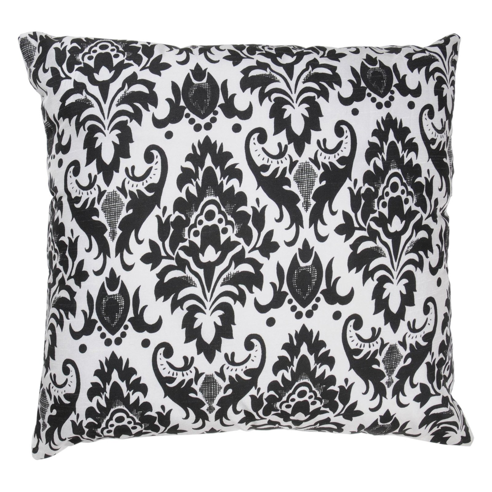 Rizzy Home Printed Black and White Decorative Throw Pillow