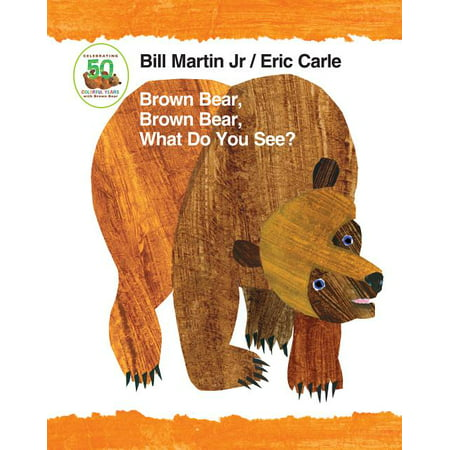 Brown Bear Brown Bear What Do You See (Board Book)