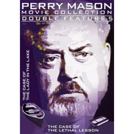 Perry Mason Double Feature 05: The Case of the Lady in the Lake / The Case of the Lethal Lesson (Perry Mason The Case Of The Heartbroken Bride)