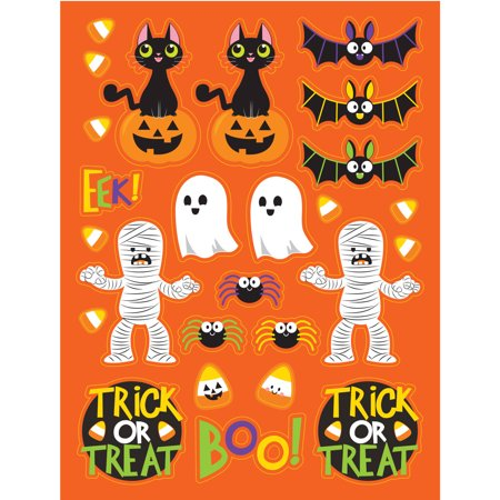 Spooky Friends Halloween Stickers, 4 count - Halloween Ideas For 4 Friends