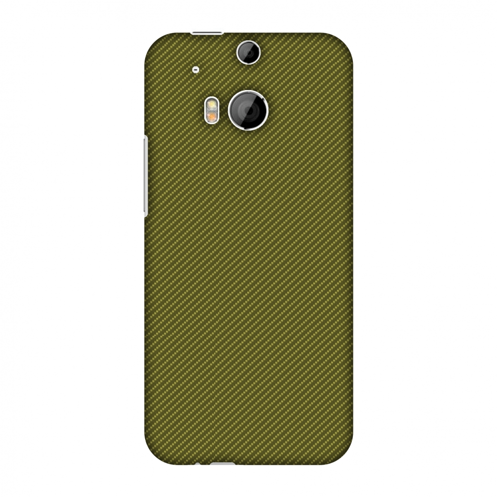 HTC One M8s Case, HTC One M8 EYE Case - Golden Lime Texture,Hard Plastic Back Cover, Slim Profile Cute Printed Designer Snap on Case with Screen Cleaning Kit