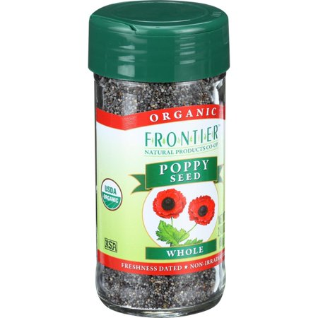 Image of Frontier Natural Products Organic Poppy Seed Whole, 2.4 Oz