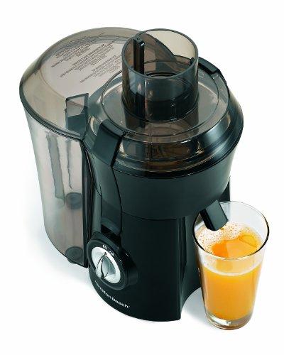 Hamilton Beach Big Mouth Juice Extractor - Black