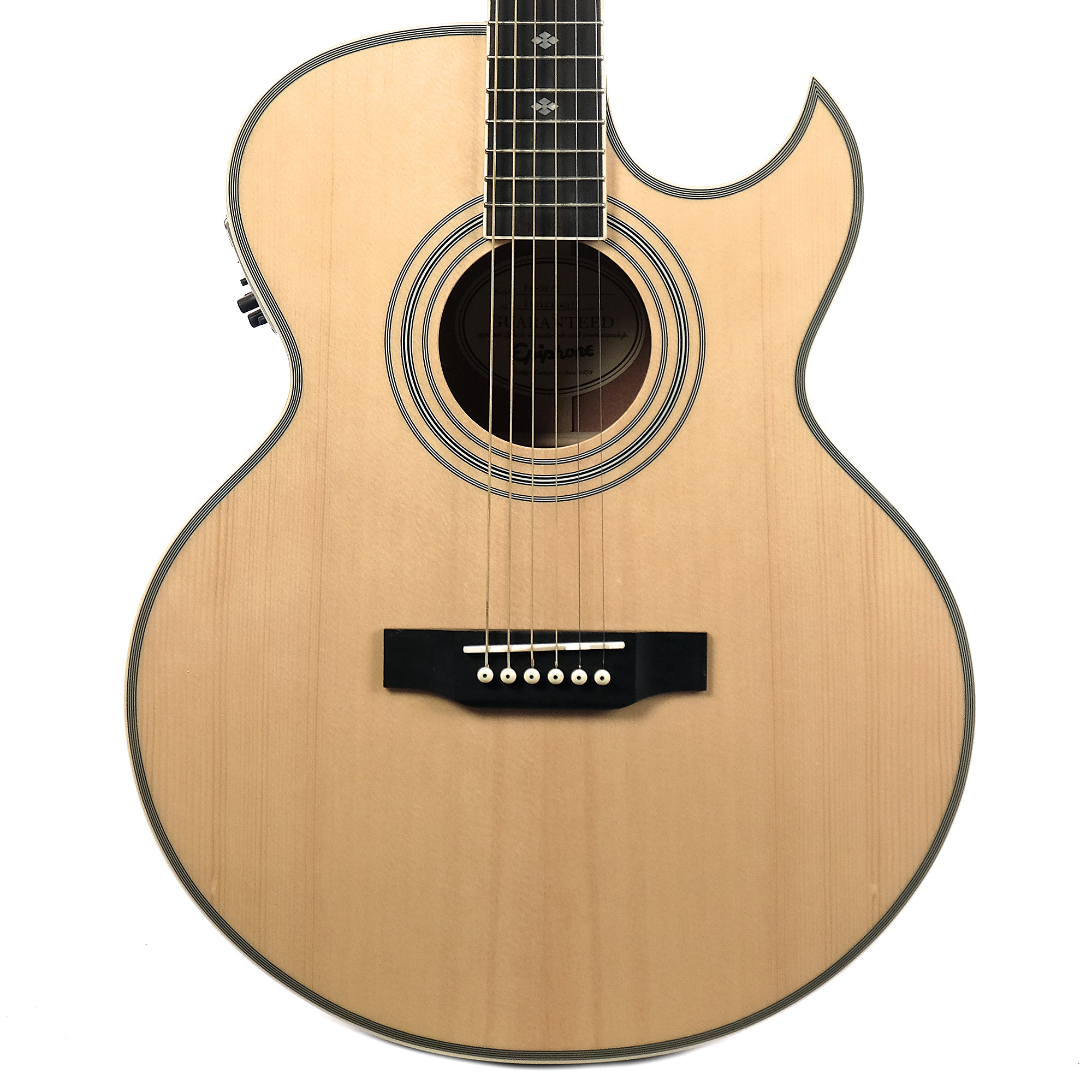 Epiphone PR-5E Acoustic-Electric Guitar (Natural)