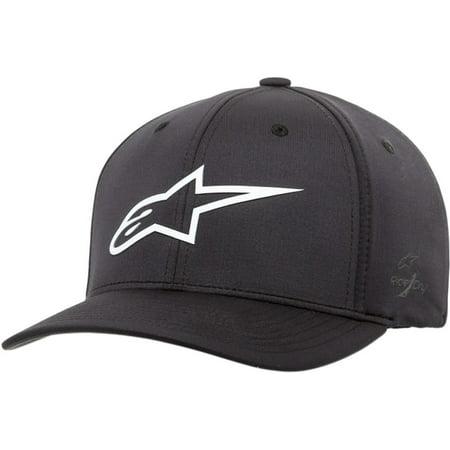 Alpinestars Mens Hat (Alpinestars Ageless Sonic Tech Mens Flexfit Hat Black/White )