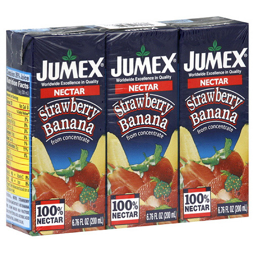 Jumex Strawberry Banana Nectar, 20.28 oz (Pack of 8)