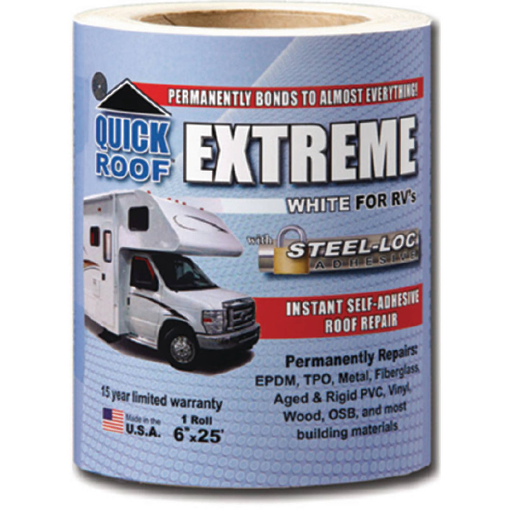 Quick Roof Extreme White For Rvs Motorhome Recreational Vehicles And Solar System On Pinterest